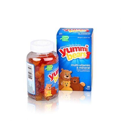Yummi Bears / Ями Беарс Желирани мечета Мултивитамини + Минерали 90бр.