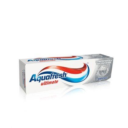 Aquafresh Ultimate + Whitening / Аквафреш паста за цялостна грижа за устата + избелване на зъбите 100мл