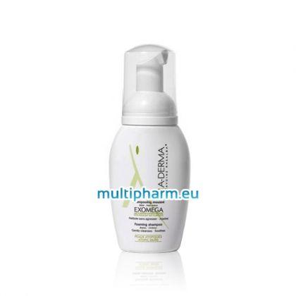 A-derma Exomega / Шампоан-пяна за бебета и деца с атопичен дерматит 125ml