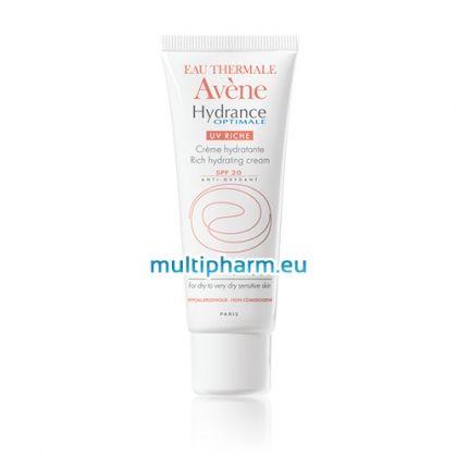 Avene Hydrance Optimale / Богат хидратиращ крем за лице с UV SPF20 50ml