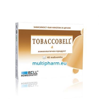 Tobaccobell / Табакобел при зависимост към никотин и цигари 40табл