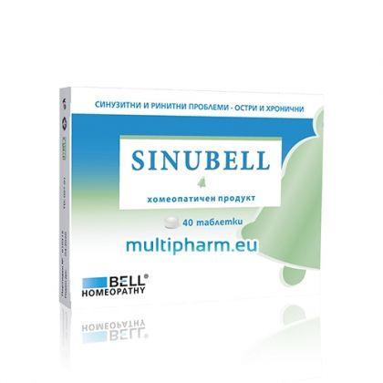 Sinubell / Синубел при синузитни и ринитни проблеми 40табл