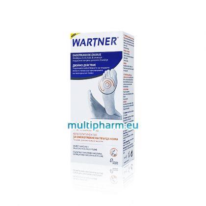 Wartner / Вартнер гел за омекотяване на твърда кожа на краката 50ml