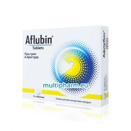 Aflubin / Aфлубин хомеопатичен лекарствен продукт при простуда и грип 12табл