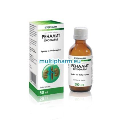Ecopharm Renalit / Екофарм Реналит за здрави бъбреци 50ml