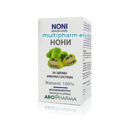 AboPharma Noni / АбоФарма Нони за здрава имунна система 60капс