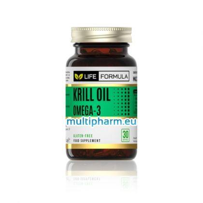 Life Formula / Омега 3 масло от крил 30капс