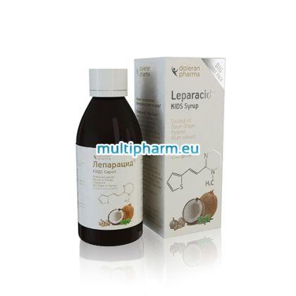Leparacid / Лепарацид Сироп за деца при обезпаразитяване на организма 180ml