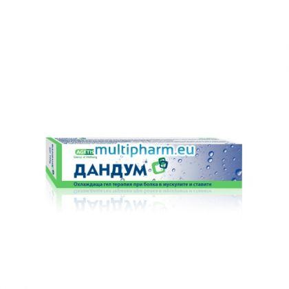 Dandum / Дандум Охлаждащ гел при болка в мускулите и ставите 100g