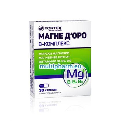 Фортекс Магне Доро Б-Комплекс 30капс