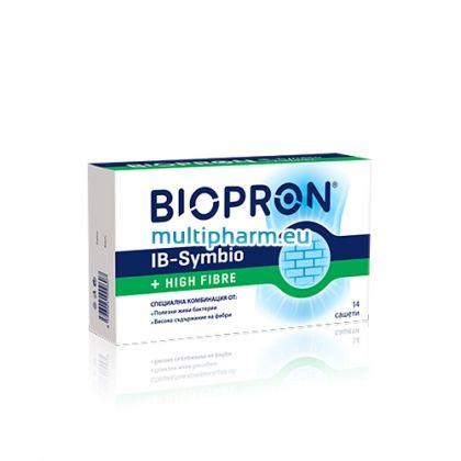 Biopron IB Symbio / Биопрон Ай Би Симбио + Фибри 14 сашета