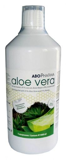 Aloe Vera / Натурален Сок от Алое Вера + пчелен мед 1000мл.
