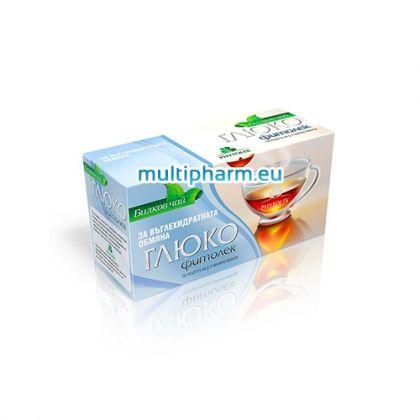 Fitolek / Фитолек Глюко чай при повишена кръвна захар филтър 20бр