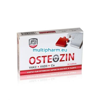 Osteozin / Остеозин за здрави кости и зъби 30табл