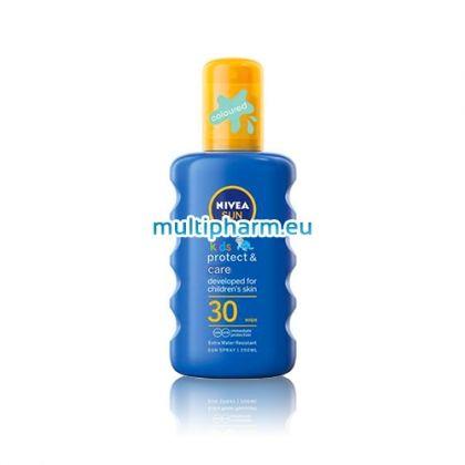 Nivea Sun Kids / Нивеа Сън Цветен детски слънцезащитен спрей 200ml SPF30
