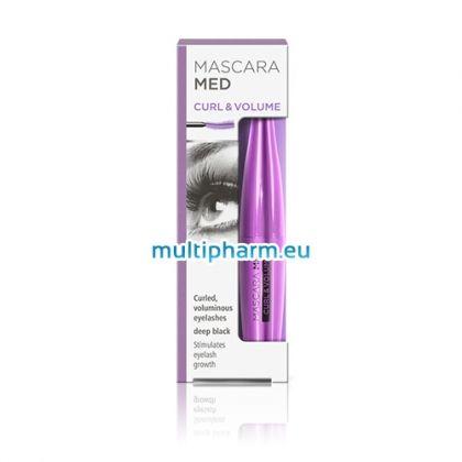 Mascara Med Curl&Volume / Маскара Мед спирала за обем, растеж и естествено извити мигли