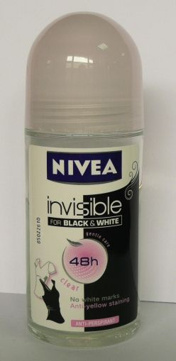 Nivea roll Invisible Clear 48h / Нивеа Рол-он