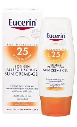 Eucerin / Юсерин Крем-гел за защита от слънчеви алергии SPF25 150мл.