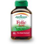 Jamieson / Джеймисън Фолиева киселина по време на бременност 200табл.