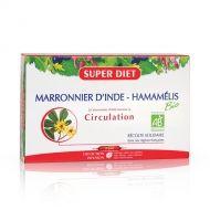 Super diet Конски кестен и хамамелис за спомагане лечението на разширени вени 20амп.