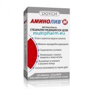 Doych / Аминолив М при чернодробни увреждания и интоксикации 40табл