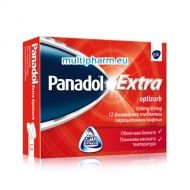 Panadol Extra Optizorb / Панадол Екстра Оптизорб при болка и висока температура 12 табл