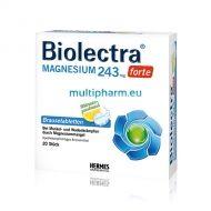 Biolectra Magnesium forte / Биолектра Магнезий форте за нормална функция на мускулите 20 ефф.табл