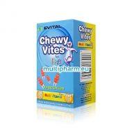 Промоция: Evital Chewy Vites / Чуи Вайтс Плодови мечета мултивитамини за деца 30бр 2 опаковки с отстъпка