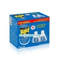 Промо: Raid Liquid / Райд Ламиниран пълнител за електрически изпарител срещу комари 2бр